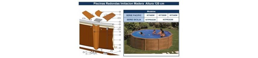 REPUESTOS PISCINAS GRE IMITACION MADERA SERIE PACIFIC Y SICILIA