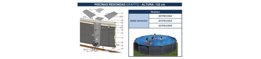 REPUESTOS PISCINAS GRE GRAFITO SERIE GRANADA