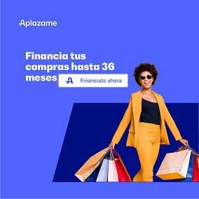 Financia tus compras hasta 36 meses